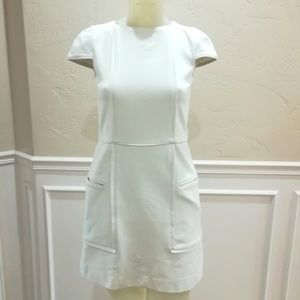Tibi ivory knit dress